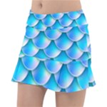 Mermaid Tail Blue Tennis Skirt