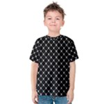 Halloween Skulls Crossbones Kids  Cotton Tee