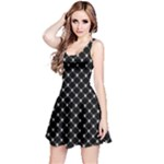 Halloween Skulls Crossbones Reversible Sleeveless Dress
