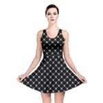 Halloween Skulls Crossbones Reversible Skater Dress