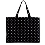 Halloween Skulls Crossbones Zipper Mini Tote Bag