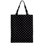 Halloween Skulls Crossbones Zipper Classic Tote Bag