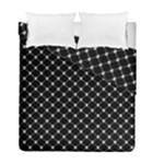 Halloween Skulls Crossbones Duvet Cover Double Side (Full/ Double Size)
