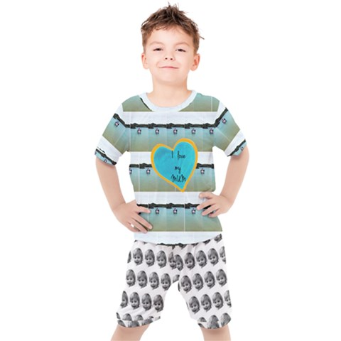 Kids  Tee and Shorts Set