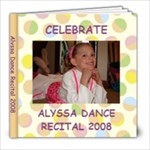 Alyssa dance 08 - 8x8 Photo Book (20 pages)