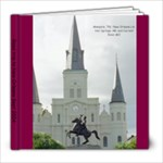 Road Trip to New Orleans Sept 2004 - 8x8 Photo Book (20 pages)