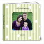 Travis Family 2008 - 8x8 Photo Book (20 pages)