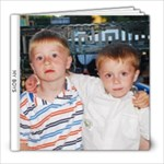 MY BOYS - 8x8 Photo Book (20 pages)