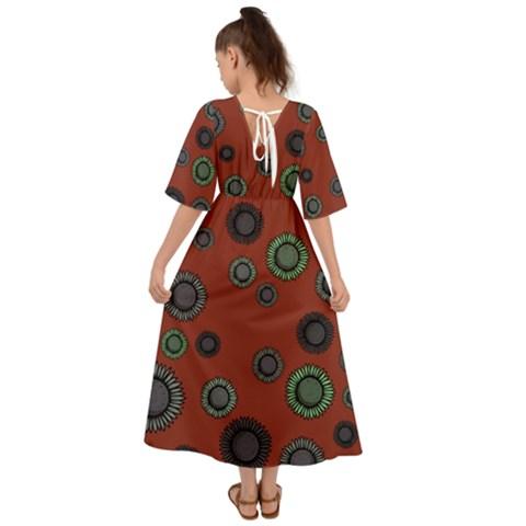 Kimono Sleeve Boho Dress