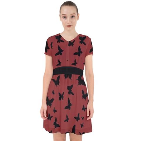 Adorable in Chiffon Dress