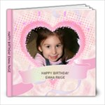 EMMA PAIGE **  THREE YEARS OLD - 8x8 Photo Book (20 pages)