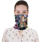 Scattered leaves Face Covering Bandana (Adult)