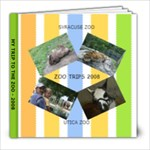 ZOO TRIPS - 8x8 Photo Book (20 pages)