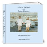Beach Book Sept 1 08 - 8x8 Photo Book (20 pages)