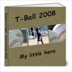 Madison Tball - 8x8 Photo Book (30 pages)