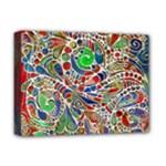 Pop Art - Spirals World 1 Deluxe Canvas 16  x 12  (Stretched)
