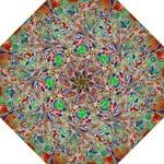 Pop Art - Spirals World 1 Hook Handle Umbrellas (Large)