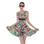 Pop Art - Spirals World 1 Skater Dress