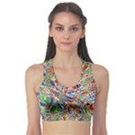 Pop Art - Spirals World 1 Sports Bra