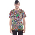 Pop Art - Spirals World 1 Men s Sport Mesh Tee