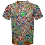 Pop Art - Spirals World 1 Men s Cotton Tee