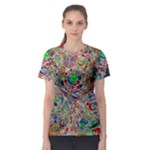 Pop Art - Spirals World 1 Women s Sport Mesh Tee