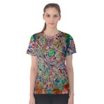 Pop Art - Spirals World 1 Women s Cotton Tee