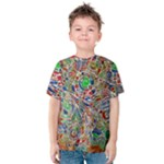 Pop Art - Spirals World 1 Kids  Cotton Tee
