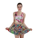 Pop Art - Spirals World 1 Mini Skirt