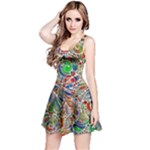 Pop Art - Spirals World 1 Reversible Sleeveless Dress