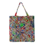 Pop Art - Spirals World 1 Grocery Tote Bag