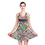 Pop Art - Spirals World 1 Reversible Skater Dress