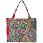 Pop Art - Spirals World 1 Mini Tote Bag