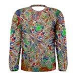 Pop Art - Spirals World 1 Men s Long Sleeve Tee