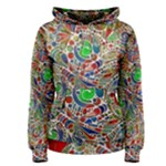 Pop Art - Spirals World 1 Women s Pullover Hoodie