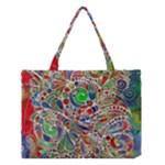 Pop Art - Spirals World 1 Medium Tote Bag