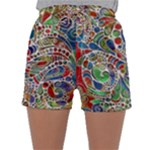 Pop Art - Spirals World 1 Sleepwear Shorts