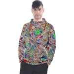 Pop Art - Spirals World 1 Men s Pullover Hoodie