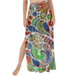 Pop Art - Spirals World 1 Maxi Chiffon Tie-Up Sarong