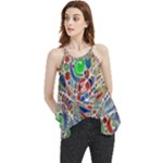 Pop Art - Spirals World 1 Flowy Camisole Tank Top