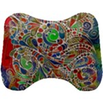 Pop Art - Spirals World 1 Head Support Cushion