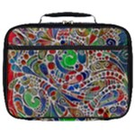 Pop Art - Spirals World 1 Full Print Lunch Bag