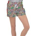Pop Art - Spirals World 1 Velour Lounge Shorts