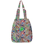 Pop Art - Spirals World 1 Center Zip Backpack