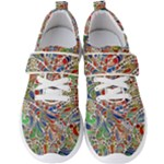 Pop Art - Spirals World 1 Men s Velcro Strap Shoes