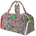 Pop Art - Spirals World 1 Burner Gym Duffel Bag