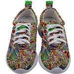 Pop Art - Spirals World 1 Kids Athletic Shoes