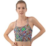 Pop Art - Spirals World 1 Mini Tank Bikini Top
