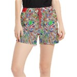Pop Art - Spirals World 1 Runner Shorts