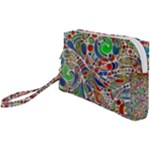 Pop Art - Spirals World 1 Wristlet Pouch Bag (Small)